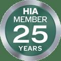 HIA_member_25years_Logo